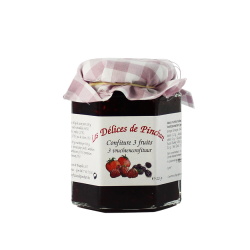 Confiture 3 fruits