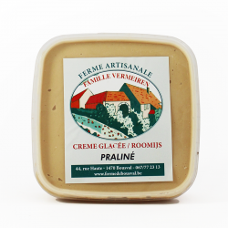Glace praliné - 550ml