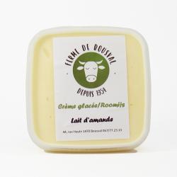 Glace lait amande - 550ml