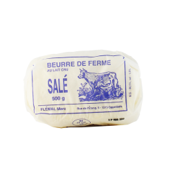 Beurre salé - 500g