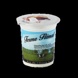 Yaourt vanille - 125gr