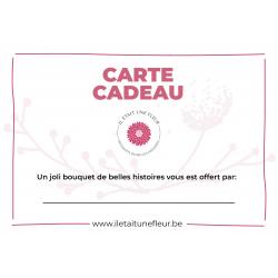 Bouquet de fleurs - Carte...