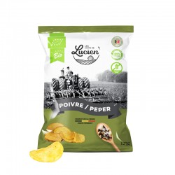 Chips Poivre & sel BIO