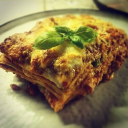 Lasagne 'Al Ragù'